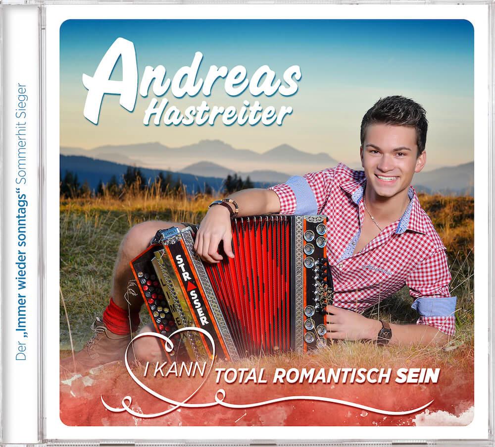 Album Cover: I kann total romantisch sein, by Andreas Hastreiter