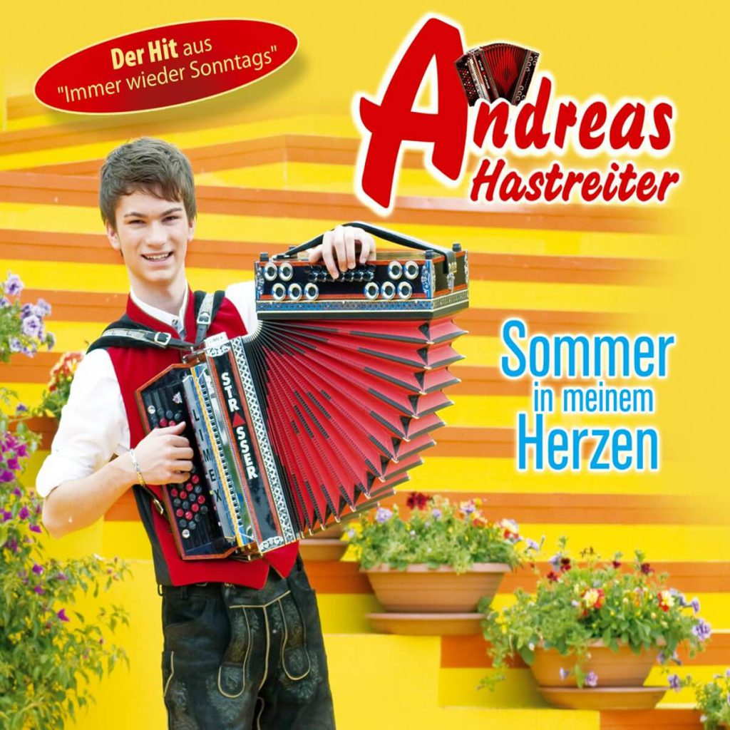 CD Cover: Sommer in meinem Herzen, by Andreas Hastreiter