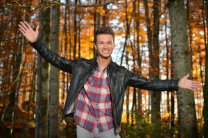 Andreas Hastreiter, Fotoshooting, Wald - 5