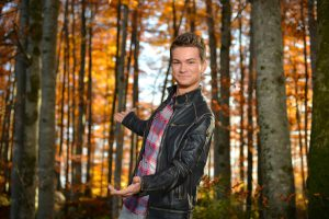 Andreas Hastreiter, Fotoshooting, Wald - 4