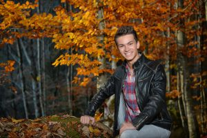 Andreas Hastreiter, Fotoshooting, Wald - 2